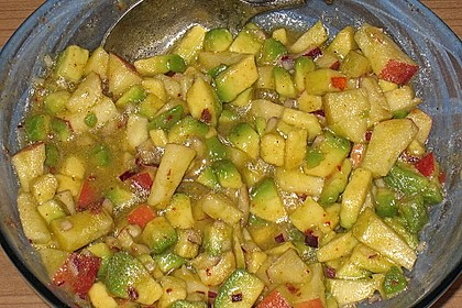 Avocado - Grüner Apfel Tatar 25