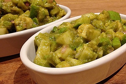 Avocado - Grüner Apfel Tatar 13