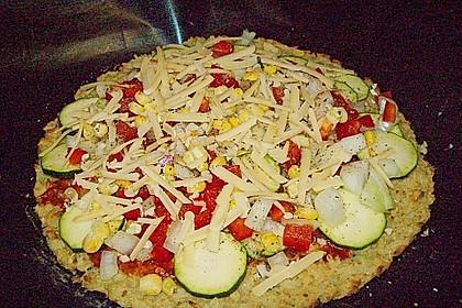 Pizzateig 'Reis' 4