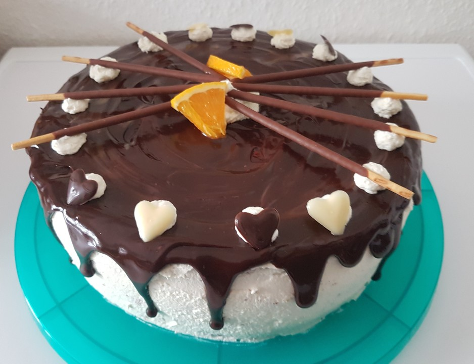 schoko orangen torte rezept mit bild von wuschel27. Black Bedroom Furniture Sets. Home Design Ideas