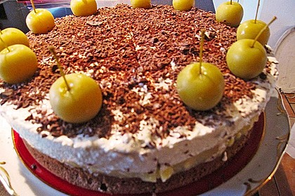 Lebkuchen - Apfel Torte 12