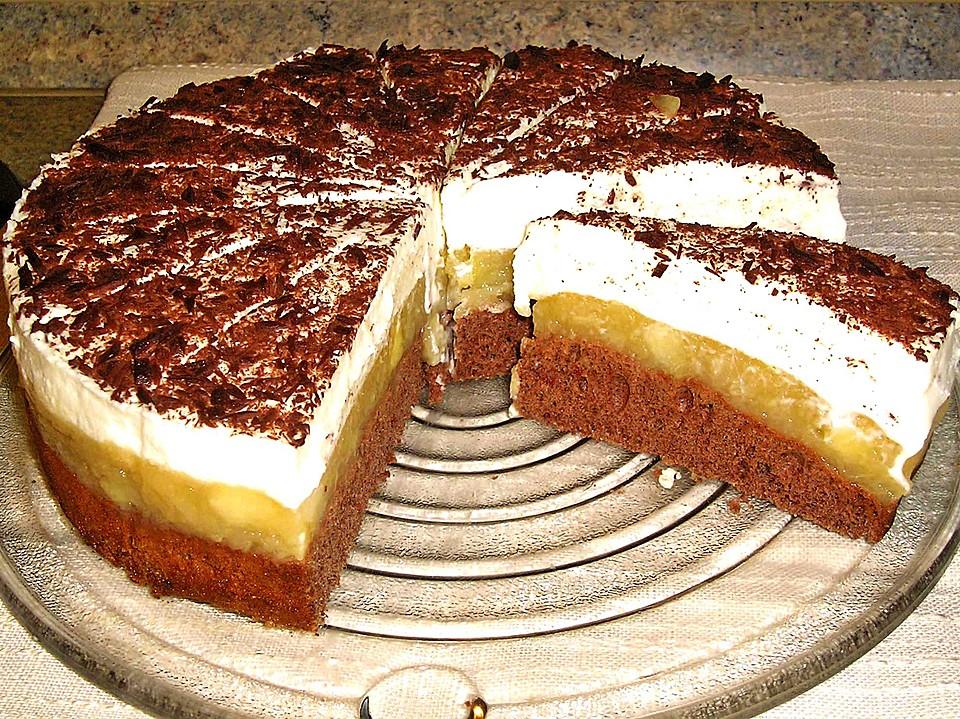 lebkuchen apfel torte rezept mit bild von souzel. Black Bedroom Furniture Sets. Home Design Ideas