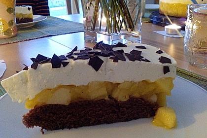 Lebkuchen - Apfel Torte 15