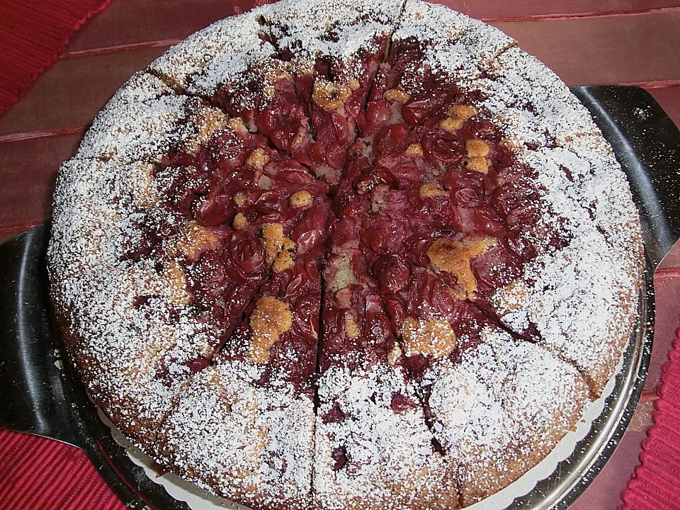 Kuchen mit tk sauerkirschen