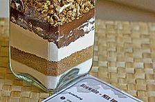 Brownie - Mix im Glas