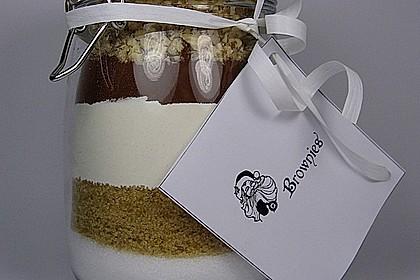 Kuchen backmischung im glas rezept brownies