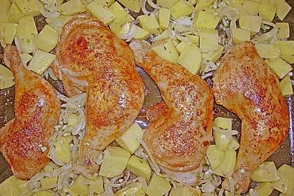 Griechische Hähnchenpfanne 96