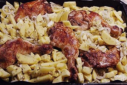 Griechische Hähnchenpfanne 93