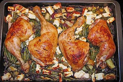 Griechische Hähnchenpfanne 8