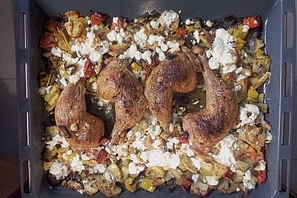 Griechische Hähnchenpfanne 60