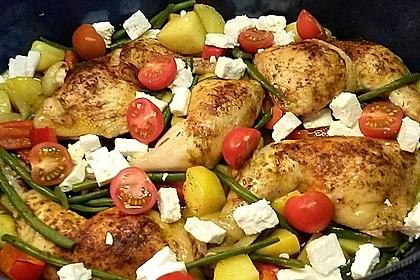 Griechische Hähnchenpfanne 24