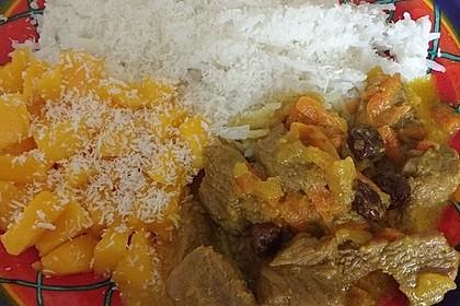 Curry - Kokos - Lamm