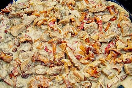 Putengeschnetzeltes in Pfifferlingsrahm 1