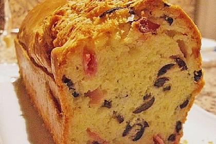 Käse - Oliven - Cake 1