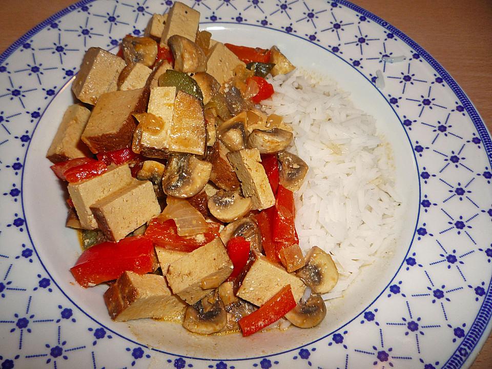 Tofu Stroganoff (Rezept mit Bild) von sam33 | Chefkoch.de