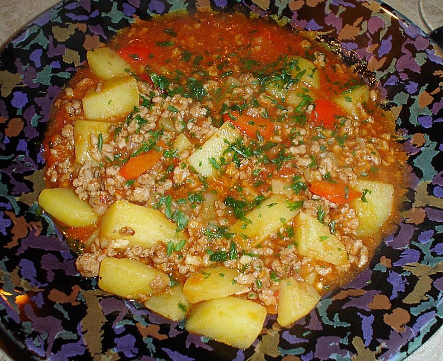 Rezept Kartoffel Hackfleisch kartoffel hackfleisch topf bibi270263 chefkoch de