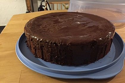 Schweizer Haselnuss - Schokoladen - Torte
