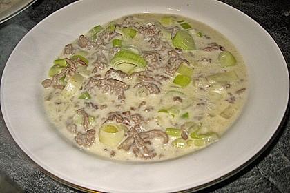 Käse - Hack - Suppe von schraegervogel | Chefkoch.de