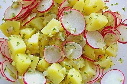 Schneller Kartoffel - Radieschen - Salat 1