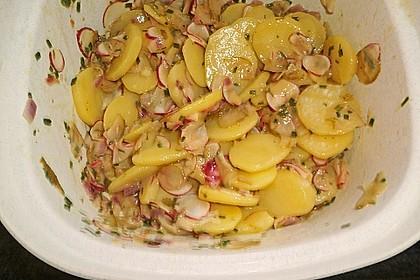 Schneller Kartoffel - Radieschen - Salat 3