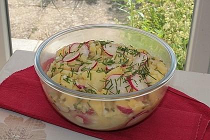 Schneller Kartoffel - Radieschen - Salat 2