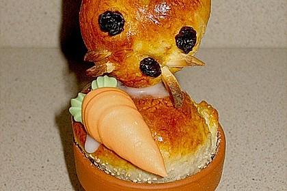 Osterhäschen im Tontopf 10