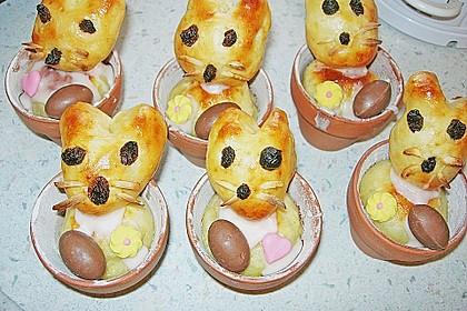 Osterhäschen im Tontopf 45