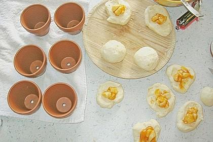 Osterhäschen im Tontopf 90