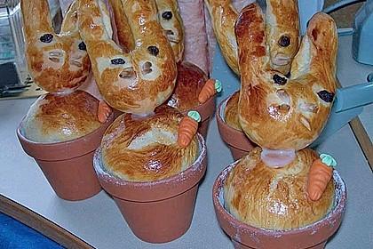 Osterhäschen im Tontopf 65