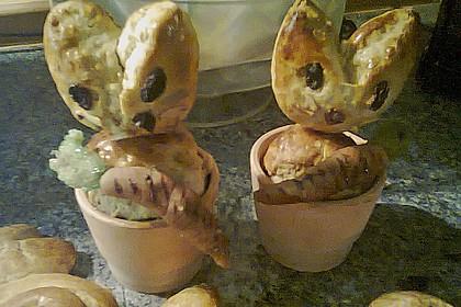 Osterhäschen im Tontopf 92