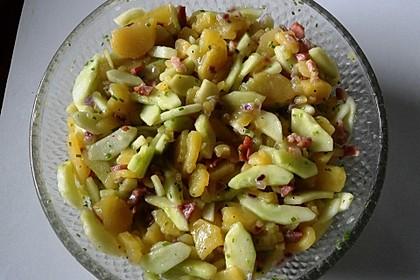 Schmorgurken-Kartoffelsalat 1