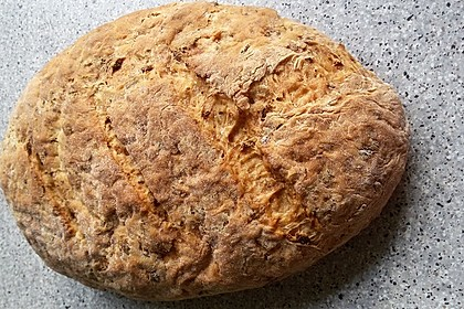 Zwiebel-Käse-Schinken-Brot 5