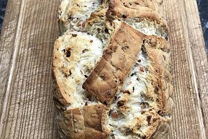 Zwiebel-Käse-Schinken-Brot 46
