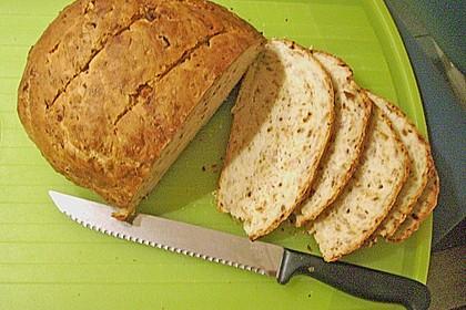 Zwiebel-Käse-Schinken-Brot 63