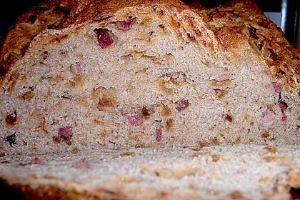Zwiebel-Käse-Schinken-Brot 26