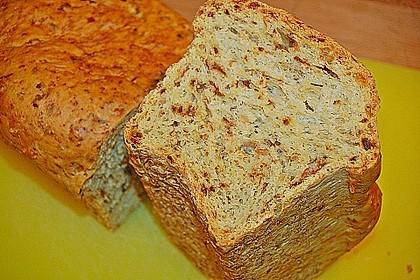 Zwiebel-Käse-Schinken-Brot 40