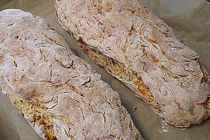 Zwiebel-Käse-Schinken-Brot 1