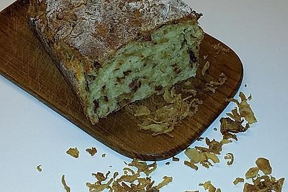 Zwiebel-Käse-Schinken-Brot 10