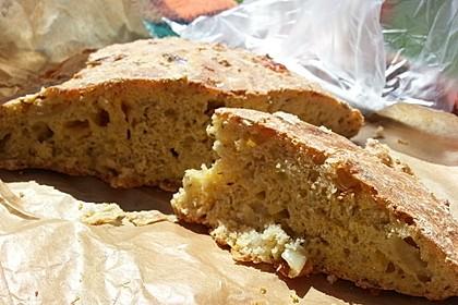 Zwiebel-Käse-Schinken-Brot 30