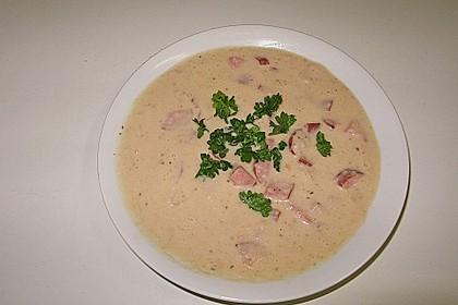 Kartoffel - Radieschensuppe 1