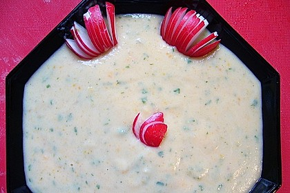 Kartoffel - Radieschensuppe 0
