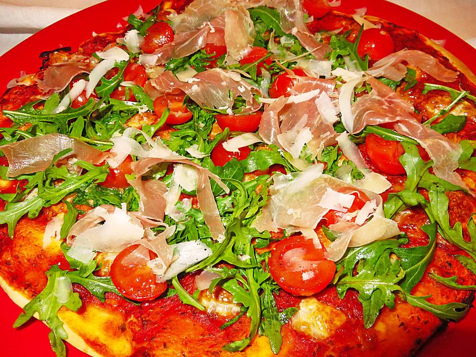 Ruccola Pizza
