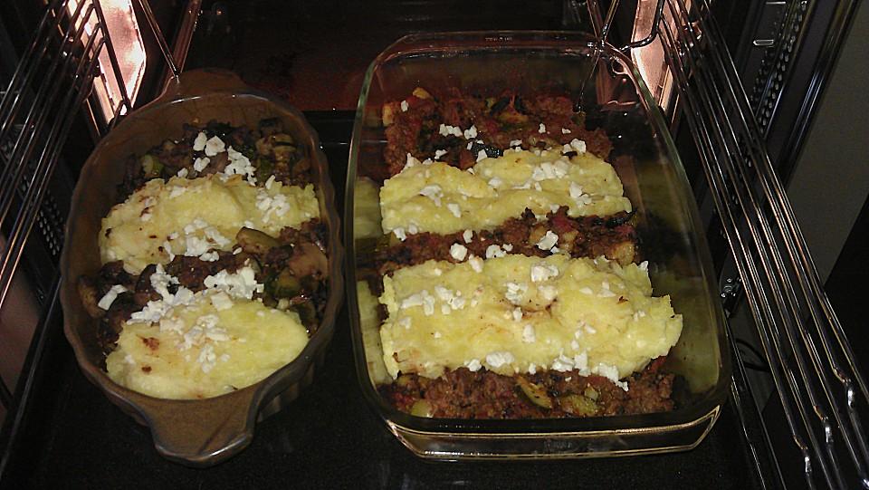 kartoffel zucchini auflauf mit schinken und feta rezepte suchen. Black Bedroom Furniture Sets. Home Design Ideas