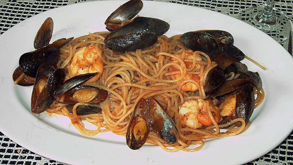 Spaghetti Frutti di Mare (Rezept mit Bild) von schorsch12 | Chefkoch ...