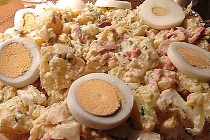 Kartoffelsalat nach Mutters Art mit Fleischsalat 13