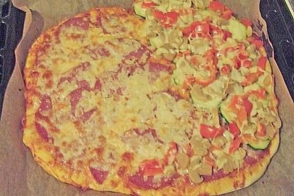 Pizzaboden - dünn und knusprig 101