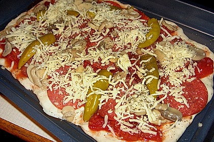 Pizzaboden - dünn und knusprig 90