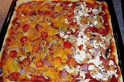 Pizzaboden - dünn und knusprig 60