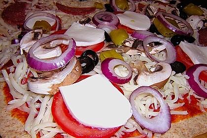 Pizzaboden - dünn und knusprig 80