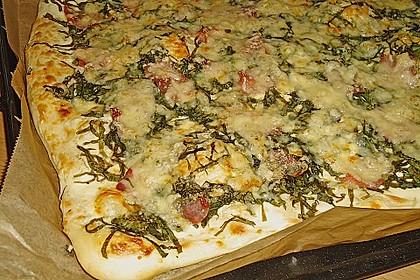 Pizzaboden - dünn und knusprig 86